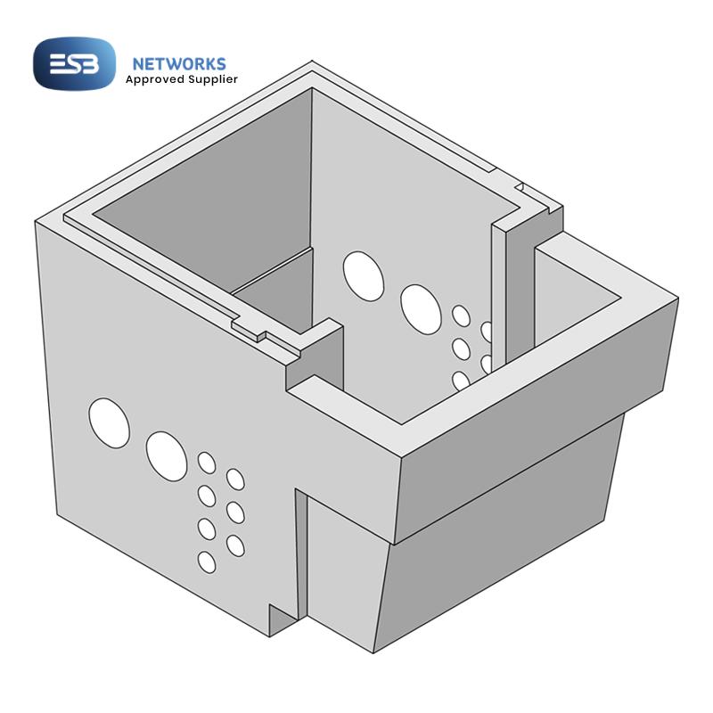 Kilkenny Precast Concrete - ESB MiniPillar Vault