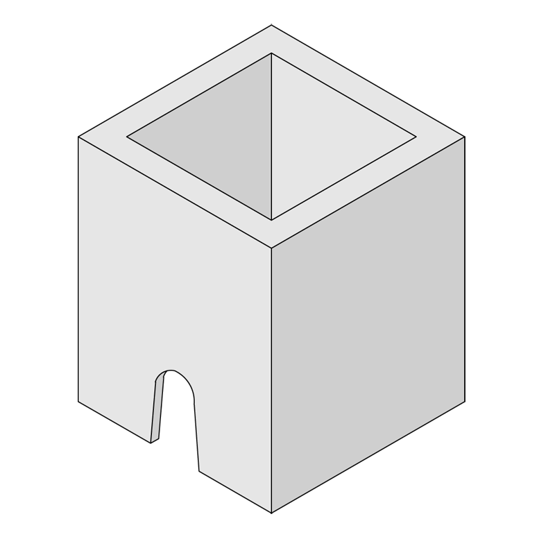 Kilkenny Precast Concrete - Junction Box JB12