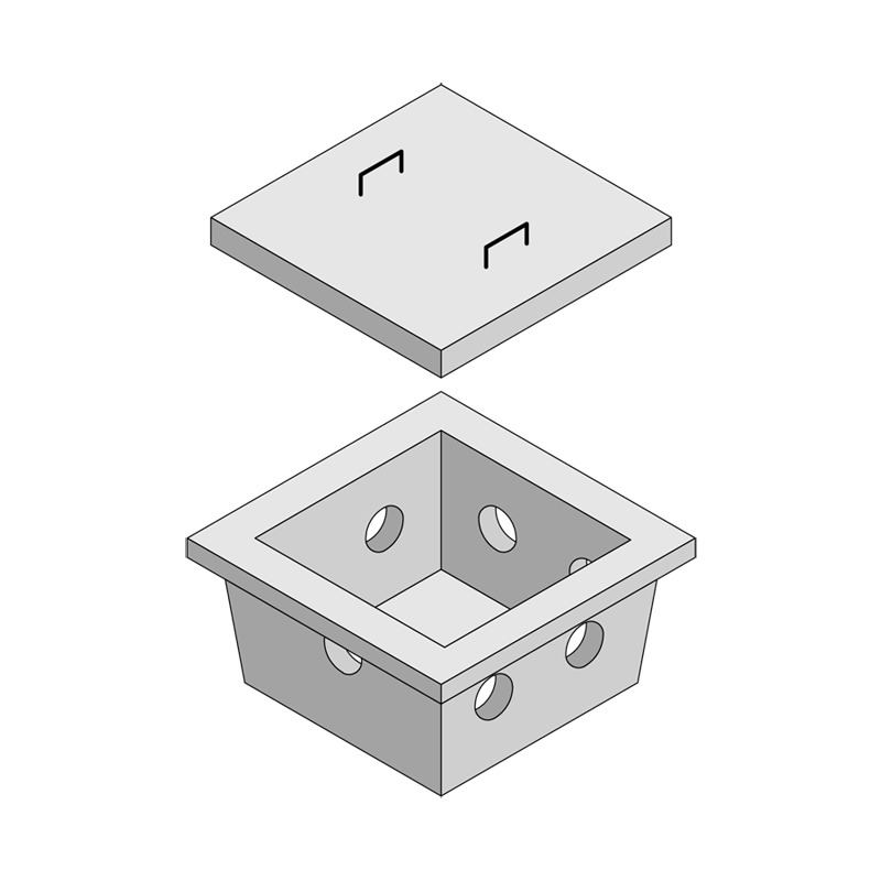 Kilkenny Precast Concrete - Percuolation Boxes
