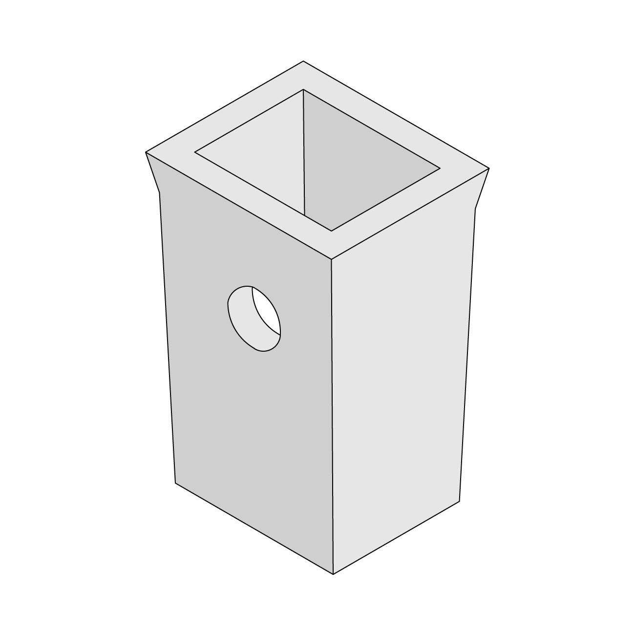 Kilkenny Precast Concrete - Untrapped Gully Pots