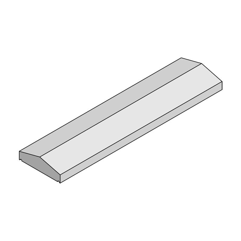 Kilkenny Precast Concrete - Apex Wall Cap