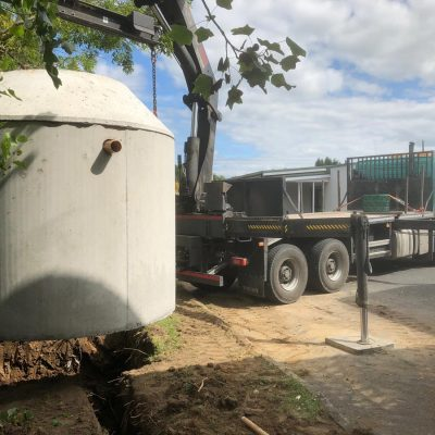 Rainwater Harvesting tank Installation